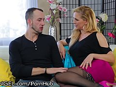 EvilAngel Cherie DeVille Anal with Step-Son