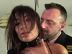 PASCALSSUBSLUTS - ass Jas gagged and pissed with qualification mom tube